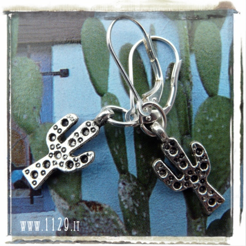 orecchini-charm-cactus-charms earrings