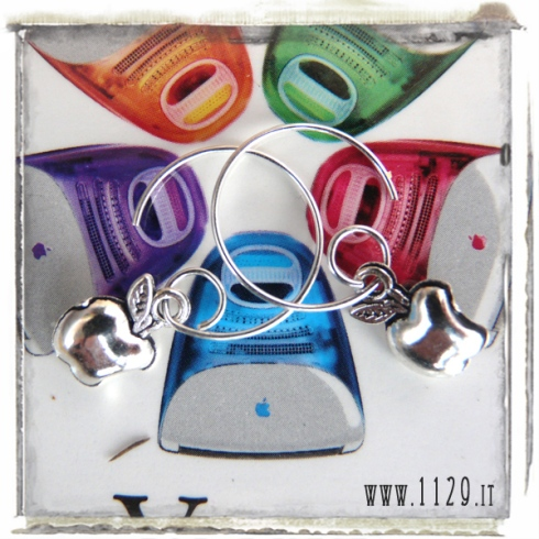 orecchini-charm-mela-apple-mac-earrings