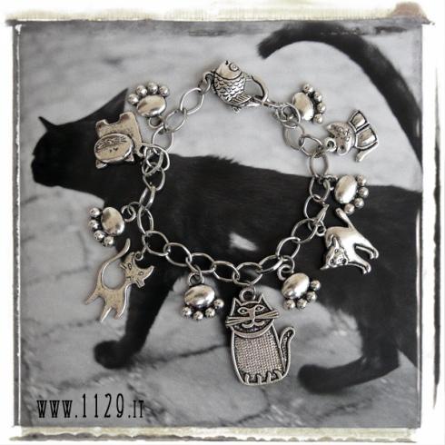 bracciale-charms-gatti-cats