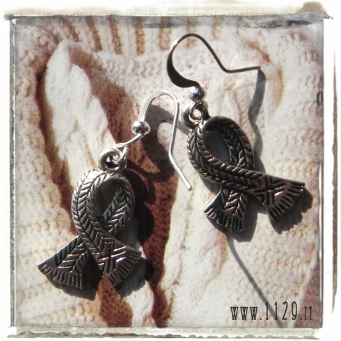 orecchini ciondolo sciarpa scialle inverno scarf charms earrings 1129 25x15 mm